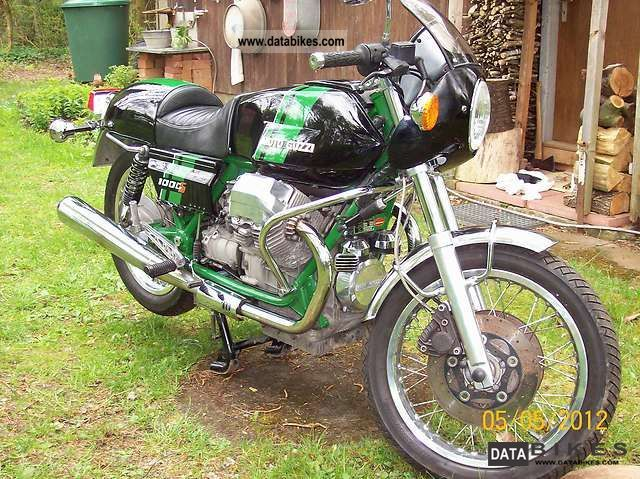 1991 Moto Guzzi  1000S Motorcycle Naked Bike photo
