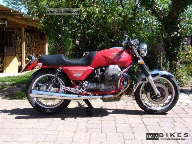 1988 Moto Guzzi  Mille GT Motorcycle Motorcycle photo