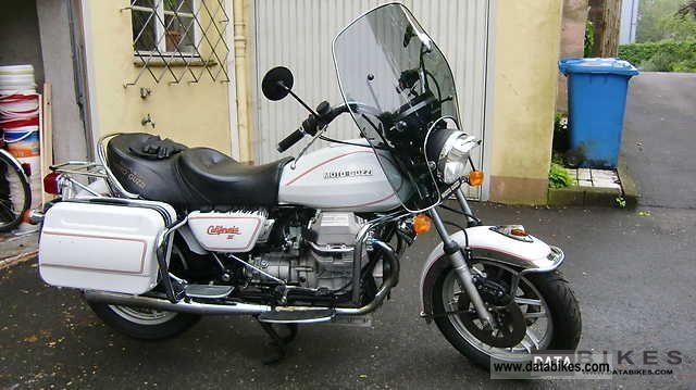 1986 Moto Guzzi  California II Motorcycle Chopper/Cruiser photo