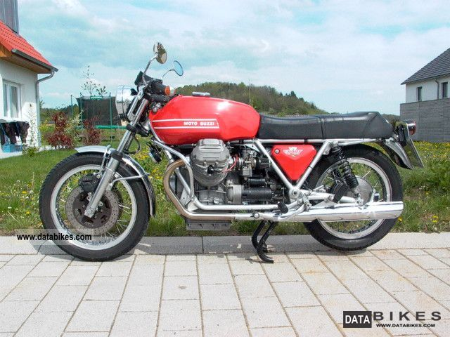 Moto Guzzi  V7 Sport 1973 Vintage, Classic and Old Bikes photo