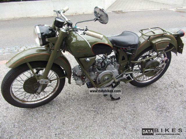 Moto Guzzi  Airone Militare 1956 Vintage, Classic and Old Bikes photo