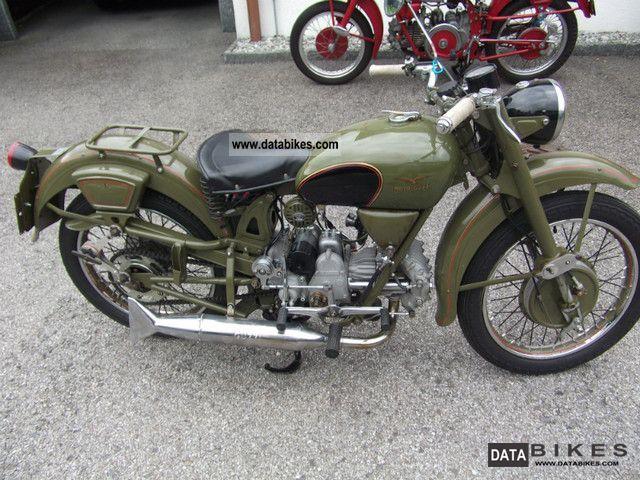 1956 Moto Guzzi Airone Militare