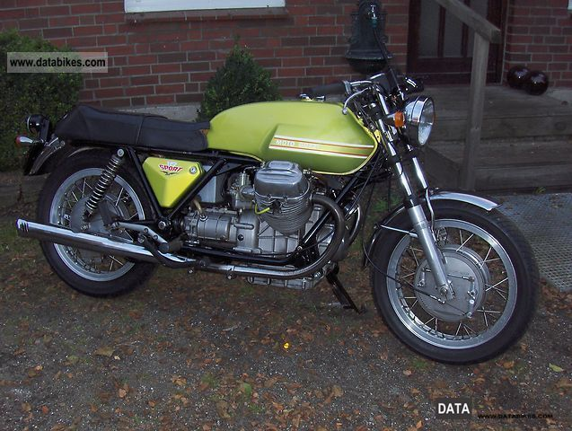 Moto Guzzi  V 7 Sport 1972 Vintage, Classic and Old Bikes photo