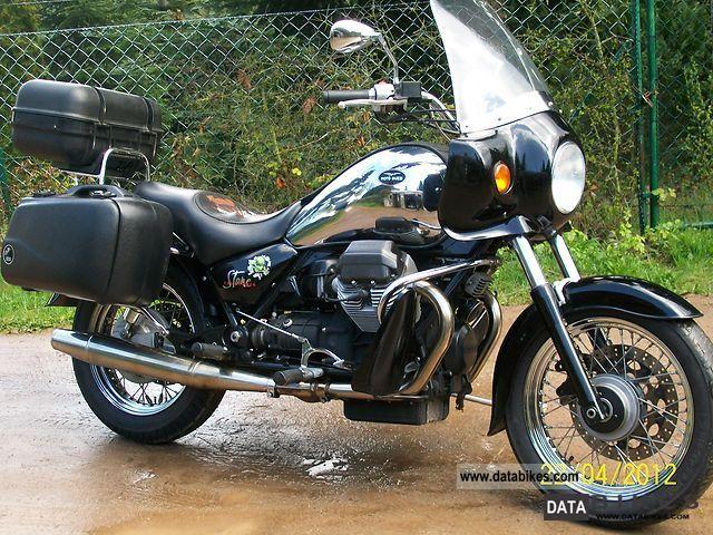 2003 Moto Guzzi  stone Motorcycle Tourer photo