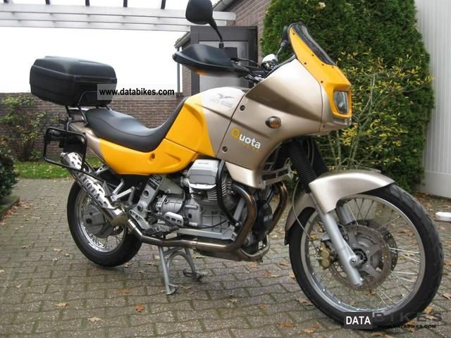 1999 Moto Guzzi  QUOTA 1100ES Motorcycle Enduro/Touring Enduro photo