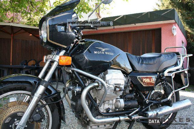 1995 Moto Guzzi  Mille GT Motorcycle Motorcycle photo