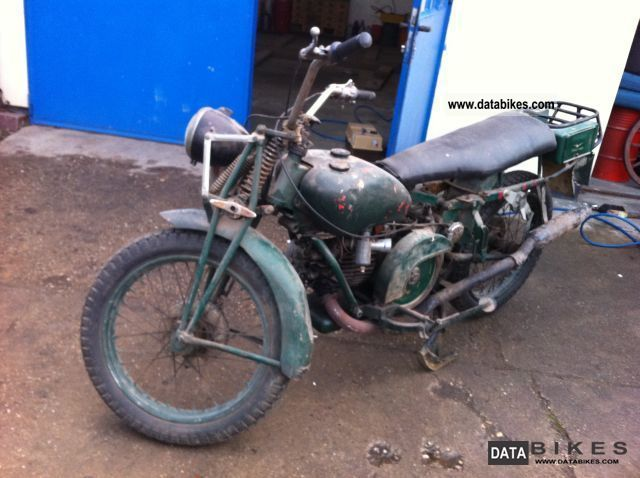Moto Guzzi  Super Alce 500, complete, fully ready to drive 1940 Vintage, Classic and Old Bikes photo
