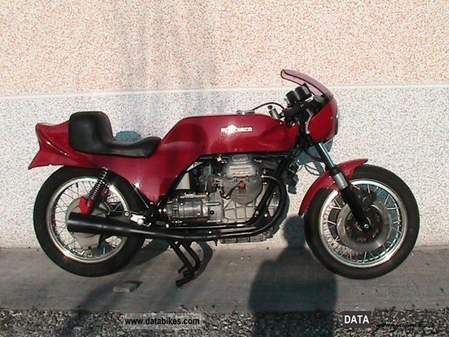 Moto Guzzi  V 750 V 750 S-S3 (1975 - 76) 1973 Vintage, Classic and Old Bikes photo