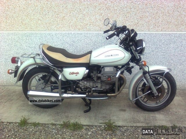 1984 Moto Guzzi  V 1000 V 1000 California II California II (1982 Motorcycle Chopper/Cruiser photo