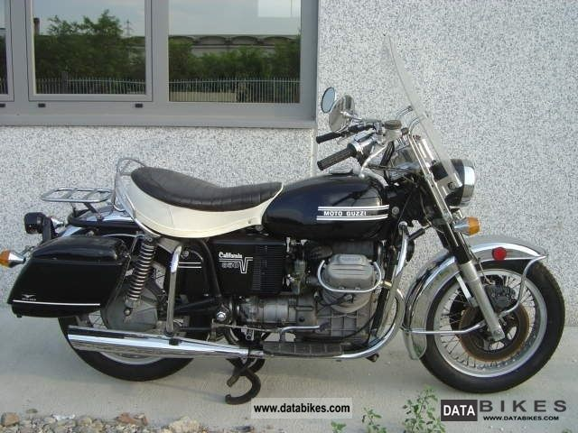 Moto Guzzi  California 1000 V7 850 GT California 1979 Vintage, Classic and Old Bikes photo