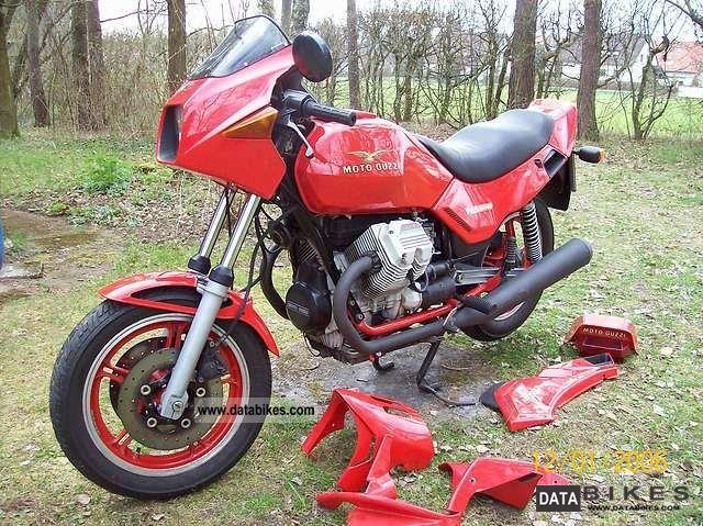1985 Moto Guzzi  V65 Lario Motorcycle Sport Touring Motorcycles photo