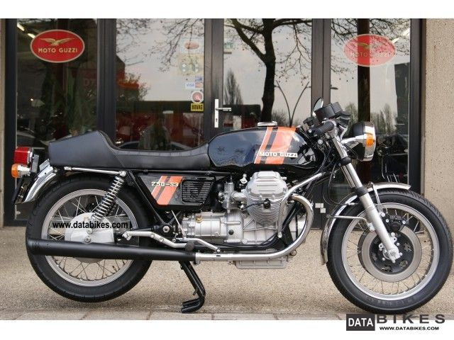 Moto Guzzi  750 S3 750S3 1976 Vintage, Classic and Old Bikes photo