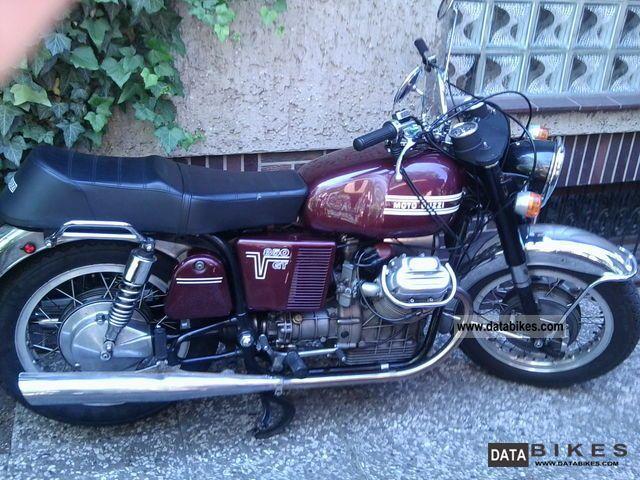 1972 Moto Guzzi  V7 850 GT Motorcycle Motorcycle photo