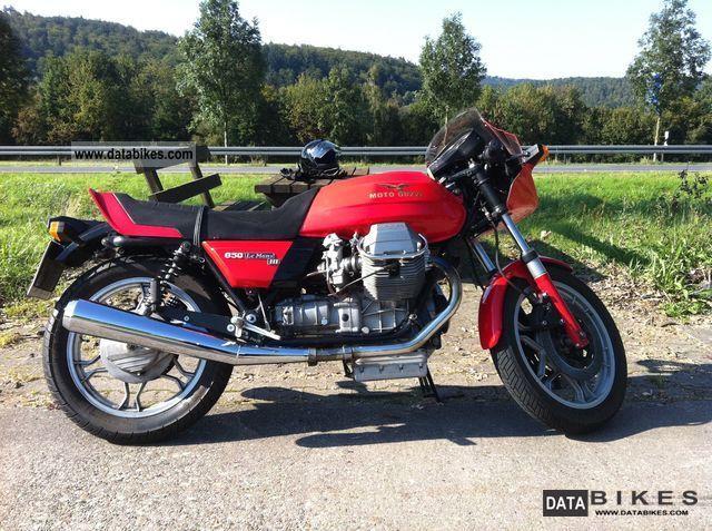 1988 Moto Guzzi  Le Mans III Motorcycle Sports/Super Sports Bike photo