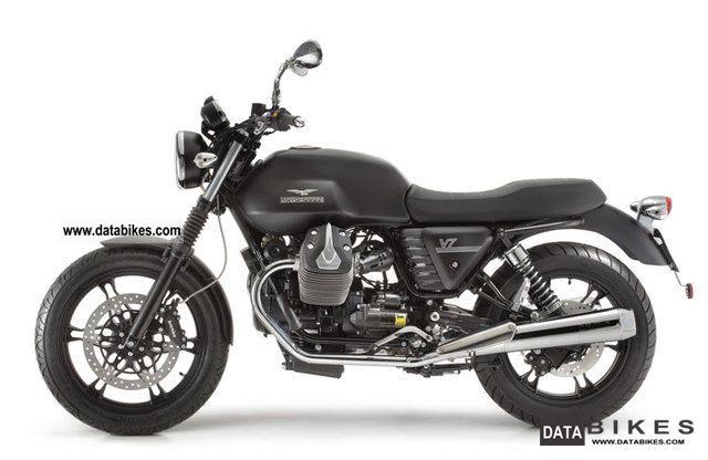 2012 Moto Guzzi  V7 * Stone factory warranty * Motorcycle Motorcycle photo