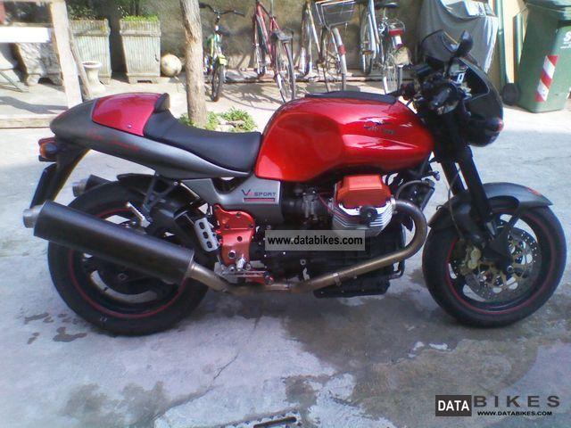 Moto Guzzi  V11 Sport Rosso Mandello 2005 Naked Bike photo