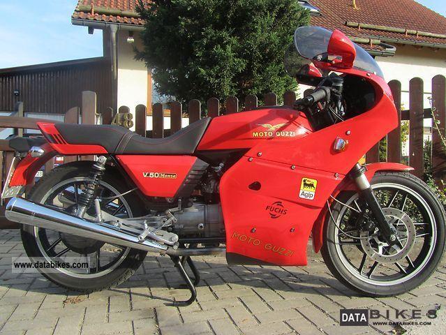 1985 Moto Guzzi  V 50 V35 Monza Motorcycle Motorcycle photo