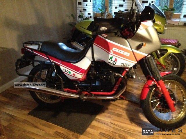 1987 Moto Guzzi  NTX 750 Motorcycle Enduro/Touring Enduro photo