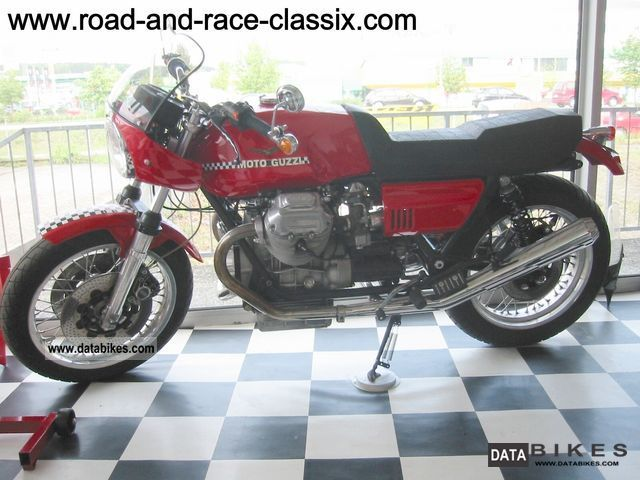 Moto Guzzi  Le Mans 1 1976 Vintage, Classic and Old Bikes photo
