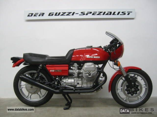 Moto Guzzi  850 Le Mans 1 1977 Vintage, Classic and Old Bikes photo