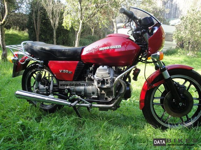 Moto Guzzi  V 50 II 1979 Vintage, Classic and Old Bikes photo