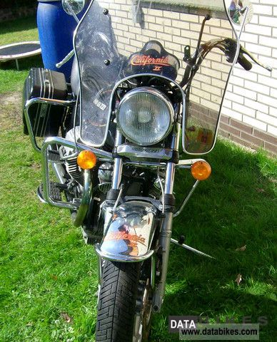 1988 Moto Guzzi  1000 California 2 Motorcycle Tourer photo