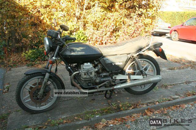 1982 Moto Guzzi  V50 III Motorcycle Motorcycle photo