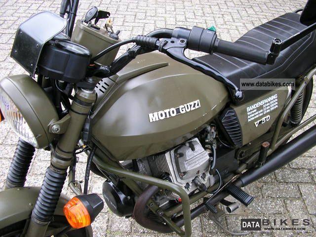 1984 Moto Guzzi  V50III NATO Motorcycle Motorcycle photo