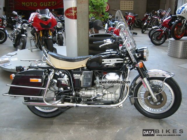 Moto Guzzi  V7 850 GT 1974 Vintage, Classic and Old Bikes photo