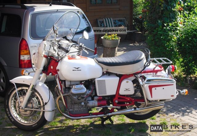 1973 Moto Guzzi  V7 850 GT Motorcycle Motorcycle photo