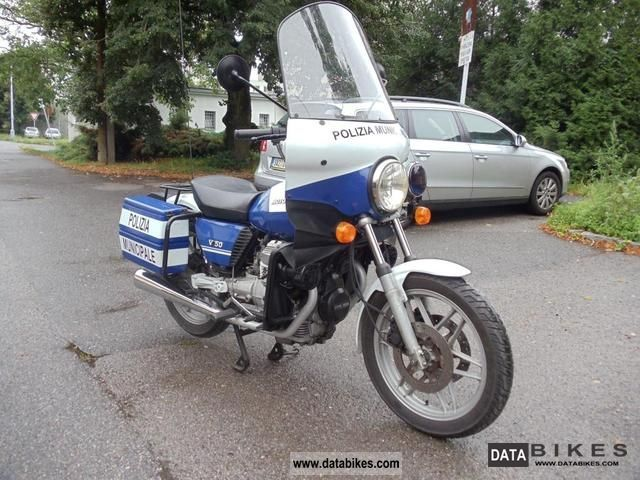 Moto Guzzi  V50 Police 1979 Vintage, Classic and Old Bikes photo