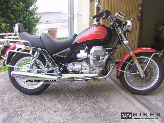 1997 Moto Guzzi  California 1100 Motorcycle Chopper/Cruiser photo