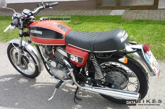 Moto Morini  3 1/2 1972 Vintage, Classic and Old Bikes photo
