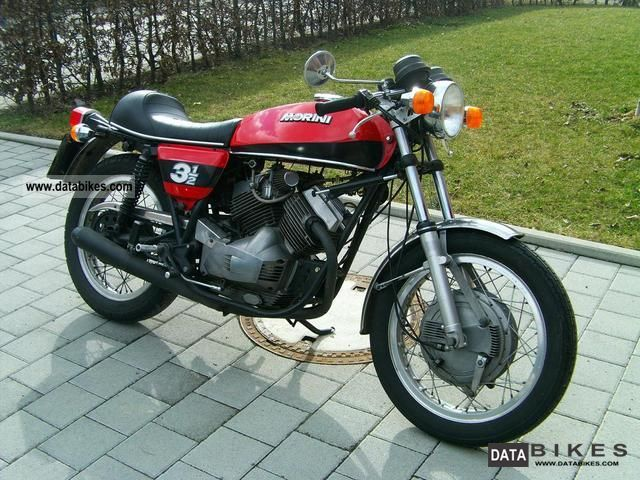 Moto Morini  Sport 350 1975 Vintage, Classic and Old Bikes photo