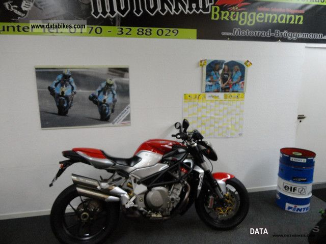 2008 MV Agusta  As new Brutale 1078 RR! Warranty! 3 TKM Motorcycle Sport Touring Motorcycles photo