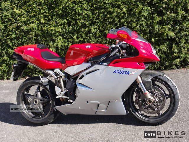 2001 MV Agusta  750 F4 1 +1 Motorcycle Sports/Super Sports Bike photo