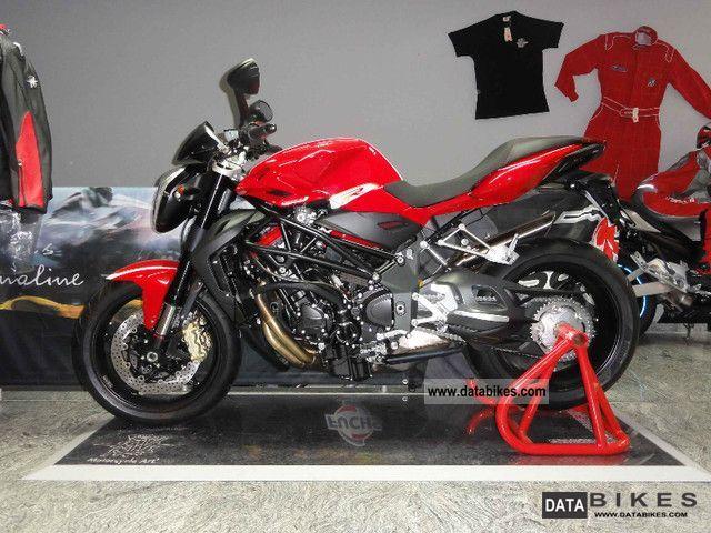 2011 MV Agusta  + + + BRUTAL model 1090 R ** 2012 ** 144 HP! Motorcycle Naked Bike photo