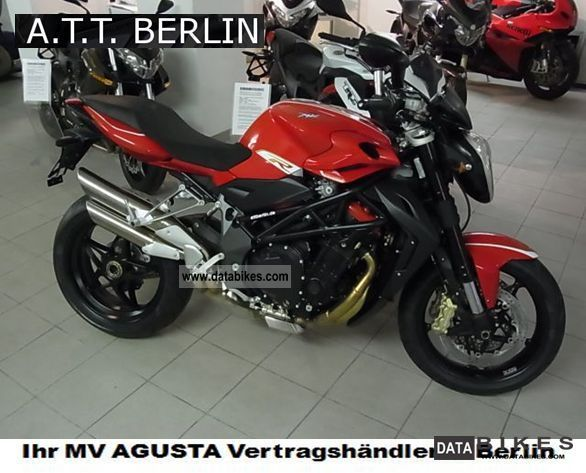 2011 MV Agusta  Brutal R1090 for 2012 - like financing! Motorcycle Naked Bike photo