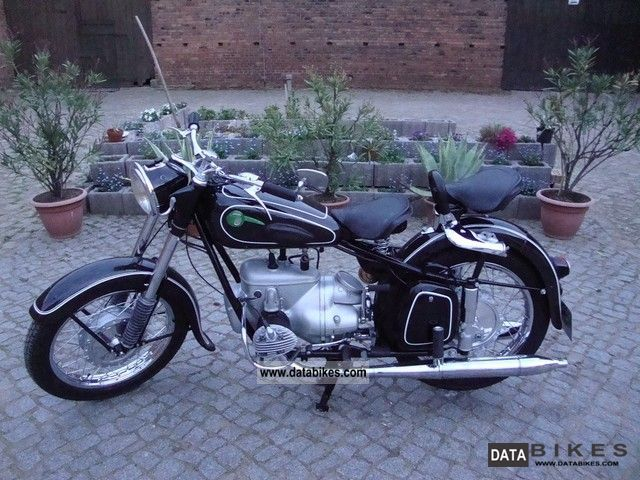 Mz  BK 350 1956 Vintage, Classic and Old Bikes photo