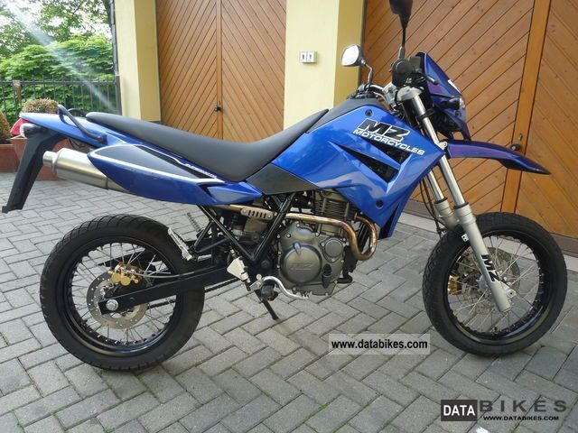 2007 Mz  125SM Motorcycle Motorcycle photo
