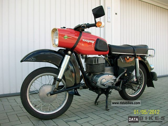 1971 Mz  it is 175/2 Motorcycle Motorcycle photo