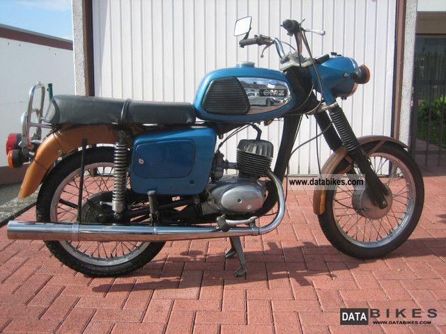 1977 Mz  TS150 Motorcycle Motorcycle photo