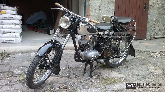 Mz  RT 125/2 1957 Vintage, Classic and Old Bikes photo