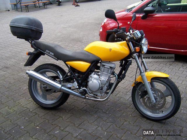2002 Mz  RT 125 Motorcycle Motorcycle photo