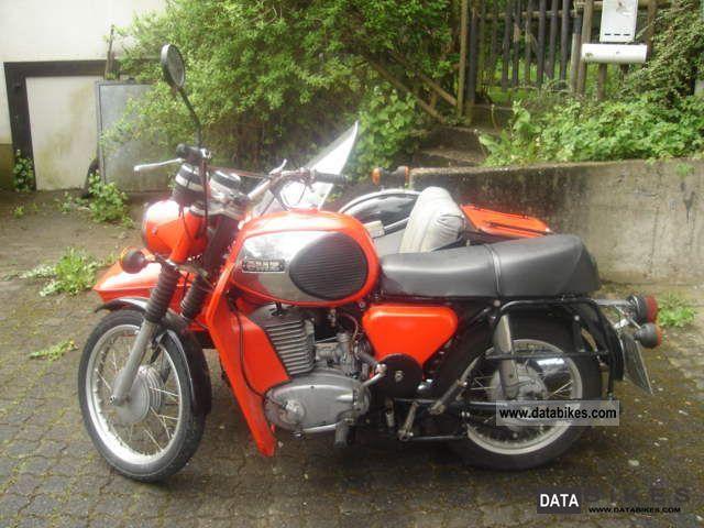 1982 Mz  TS 250 trailer Motorcycle Combination/Sidecar photo