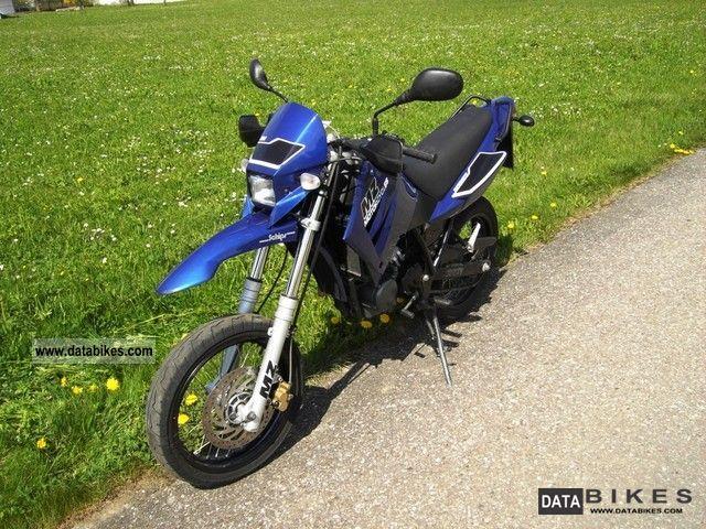2007 Mz  SM 125 Supermoto Motorcycle Super Moto photo