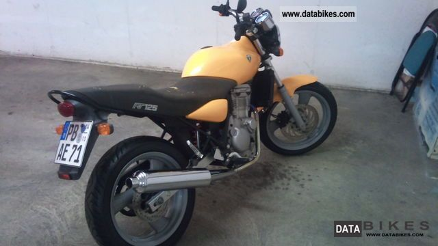 2001 Mz  RT 125 Motorcycle Lightweight Motorcycle/Motorbike photo