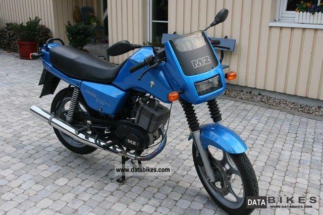 1987 Mz ETZ 150 Saxon Sportstar