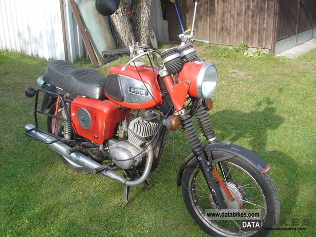 Mz  TS 150 1979 Motorcycle photo