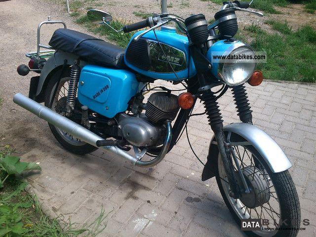 1983 Mz  TS 125 Motorcycle Motorcycle photo